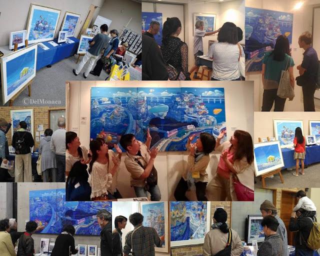 画家でるもなか,アーティスト,アート、イラスト制作、イラストレーター、イラストレーター検索、湘南