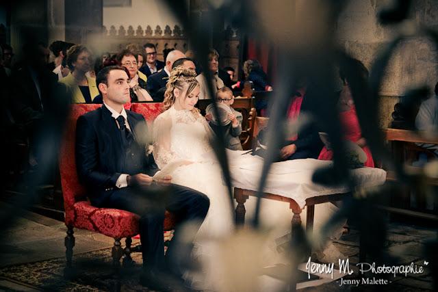 portraits des mariés reportage cérémonie religieuse
