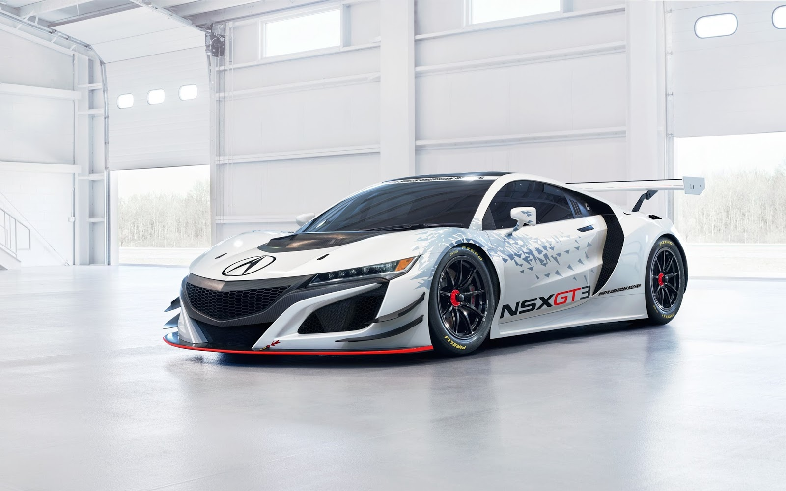 Acura NSX GT3 Racing Hybrid