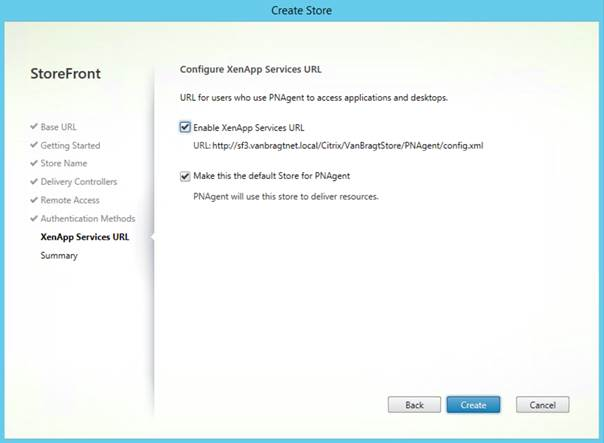 Installing and configuring Citrix StoreFront 35  TechSupport