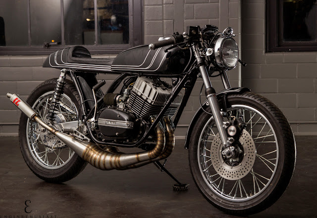 Yamaha RD350 1973 By Twinline Motorcycles Hell Kustom