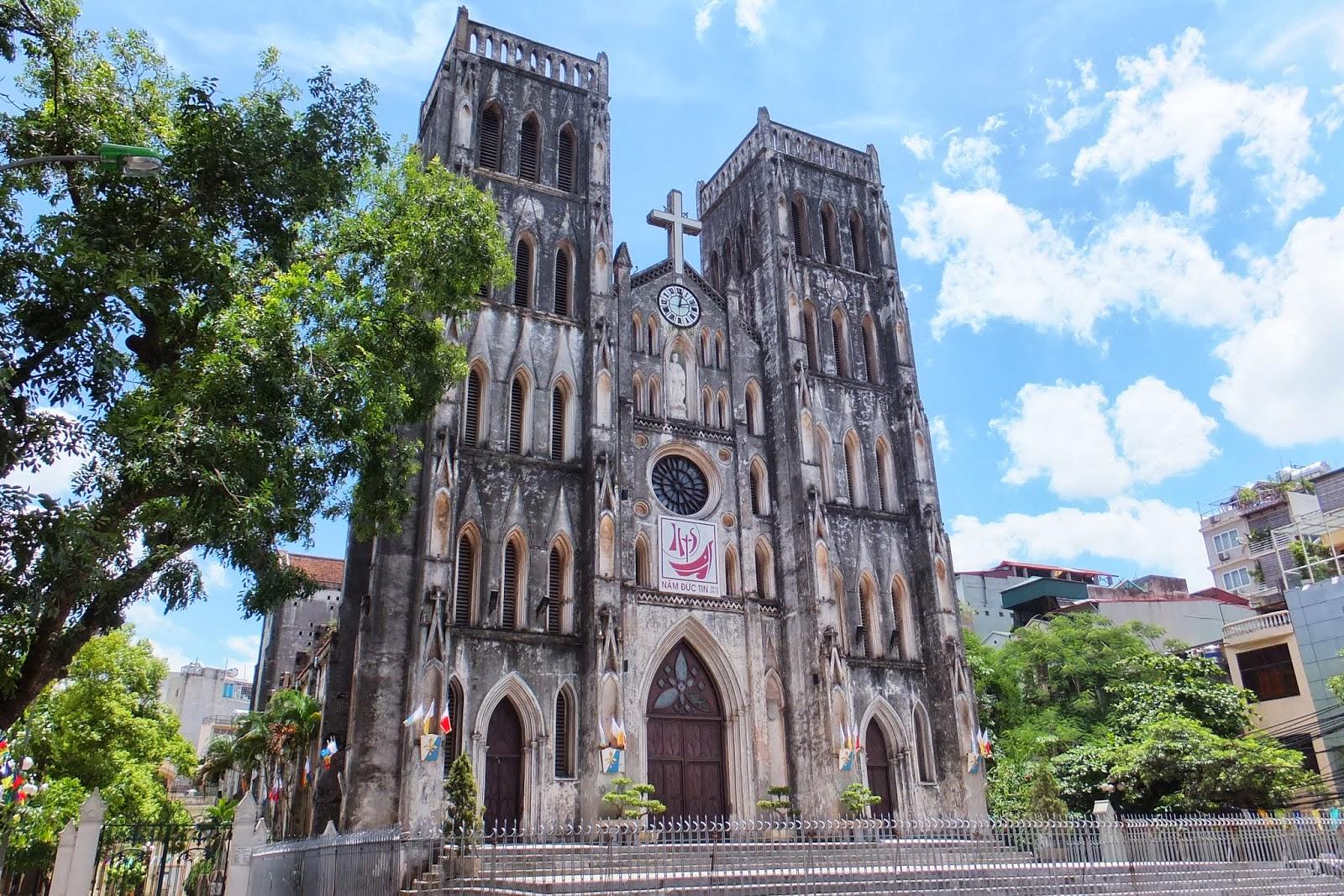 hanoi-church ハノイ大教会