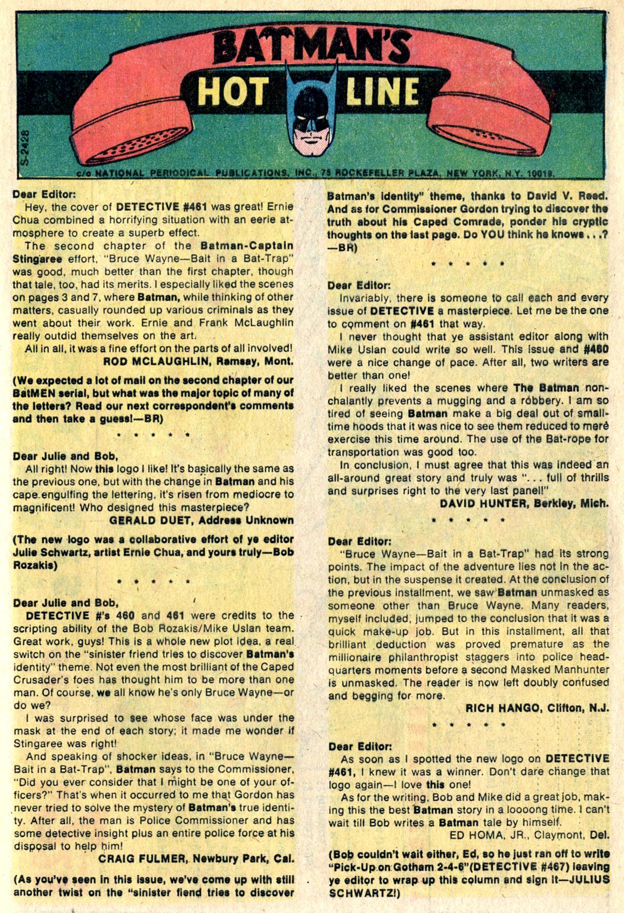 Detective Comics (1937) 465 Page 31