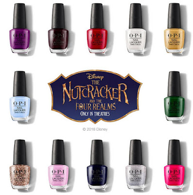 OPI The Nutcracker and  Four Realms Collection - with swatches!