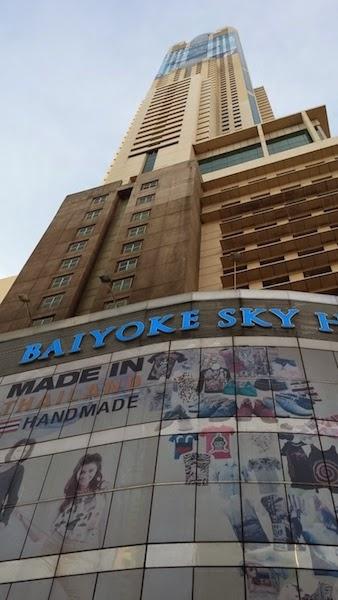 torre baiyoke, rascacielos tailandia, rascacielos del mundo, edificios tailandia