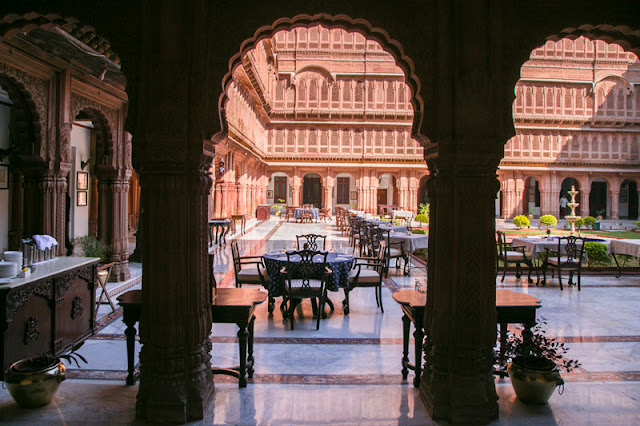 review blog laxmi nivas palace bikaner