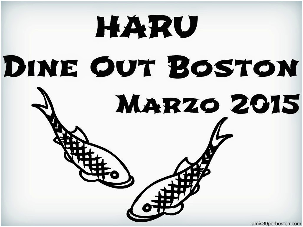 Dine Out Boston 2015: Haru