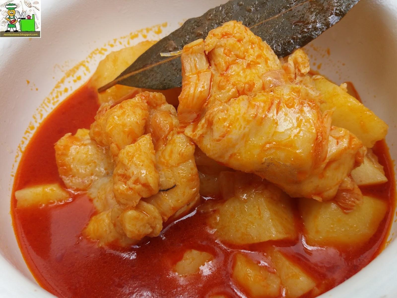Recetas del sur guiso de patatas con bacalao - Bacalao con garbanzos y patatas ...