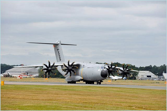 A-400M airbus military transport aircraft technical data sheet