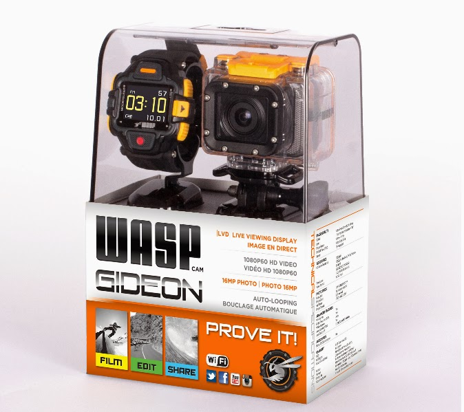 9f713afc30 A new camera company has emerged in the action camera market and their  latest offering is creating a lot of buzz. WASPcam