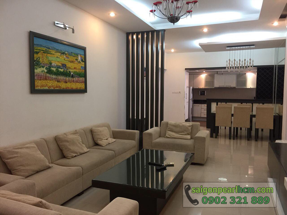 bán hoặc cho thuê căn hộ 135m2 tầng cao tại Saigon Pearl