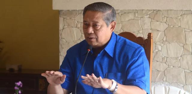 Bantah Minta AHY Dampingi Jokowi, SBY: Mudah-mudahan Kabar itu Bukan dari Lingkaran Istana