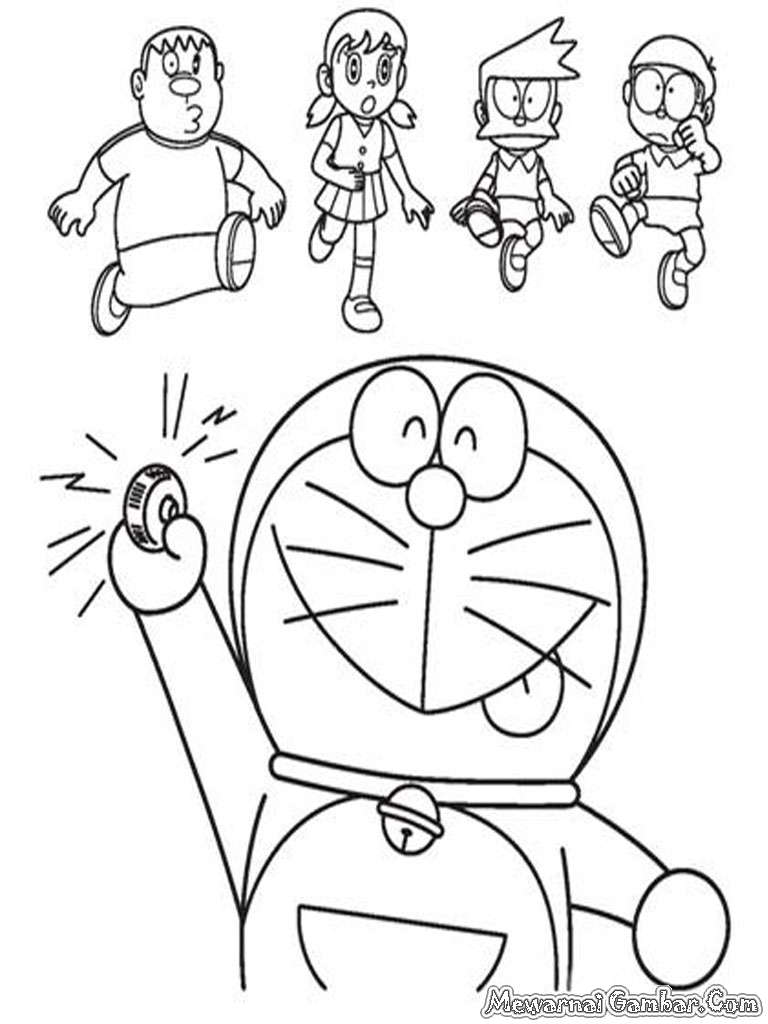 Free coloring pages of akkipuden