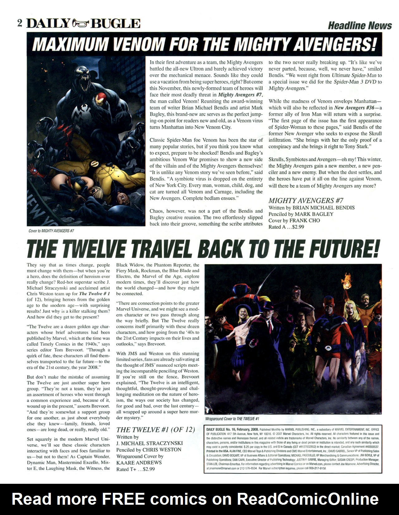 Read online Daily Bugle (2006) comic -  Issue #16 - 3