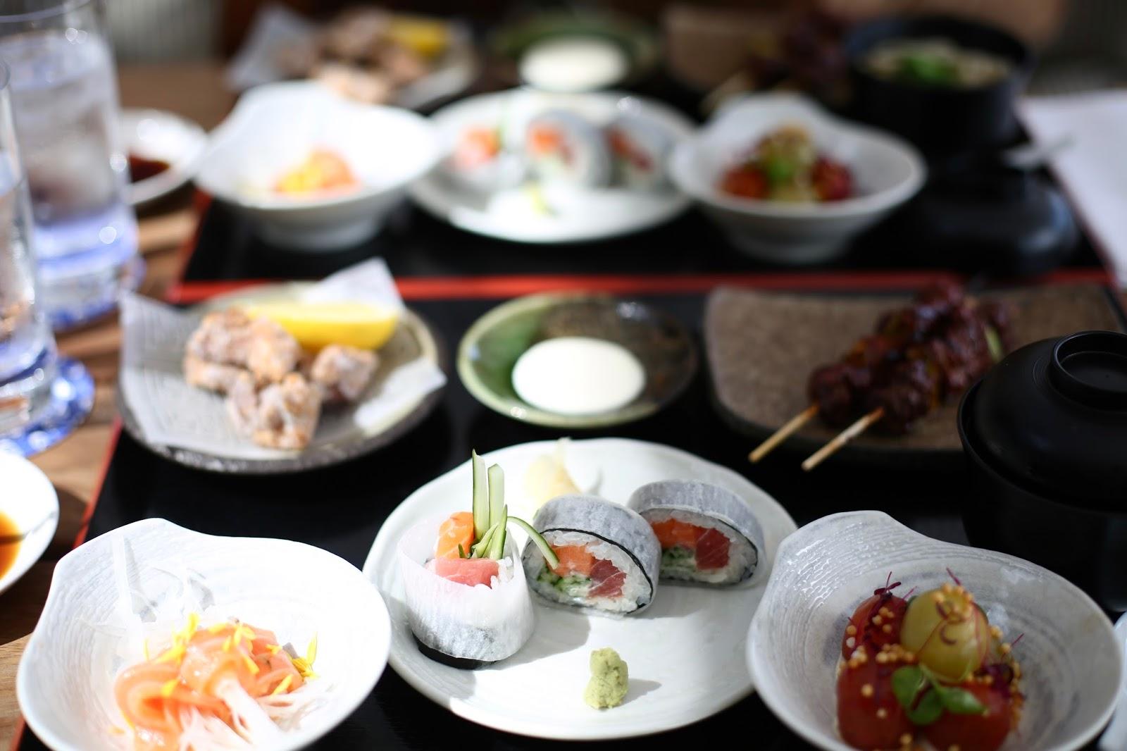 issho sushi leeds