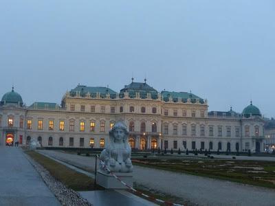 palais du Belvédère Vienne