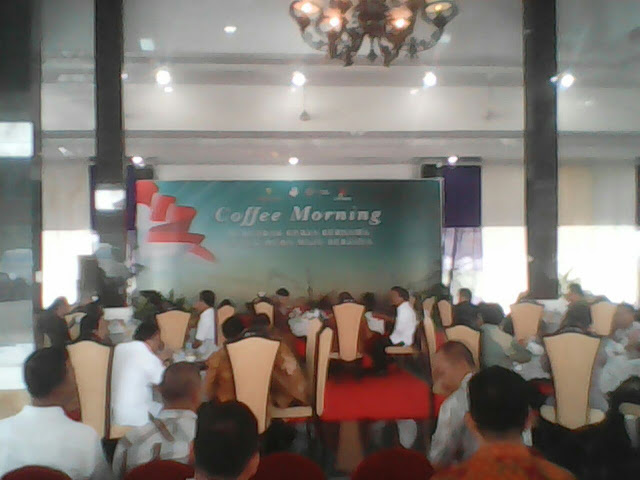 Jalin Silaturahmi SKK Migas Bersama Pemkab Muba Coffe Morning Bersama