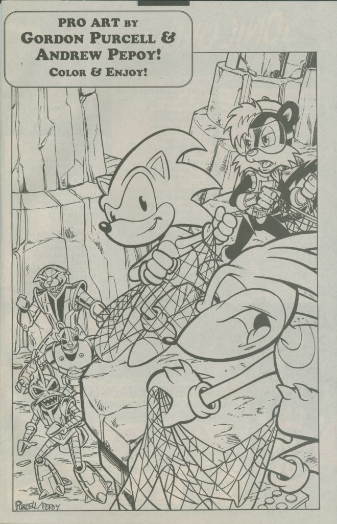 Read online Sonic The Hedgehog comic -  Issue #74 - 33