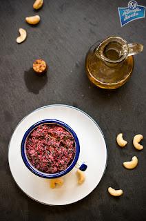 Pesto z botwinką przepis
