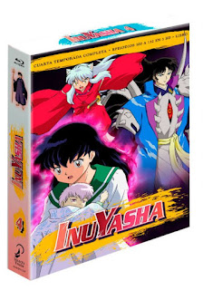 "Anime: Review de ""Inuyasha Box 4 Ep 100-132 Blu-Ray"" - Selecta Visión"