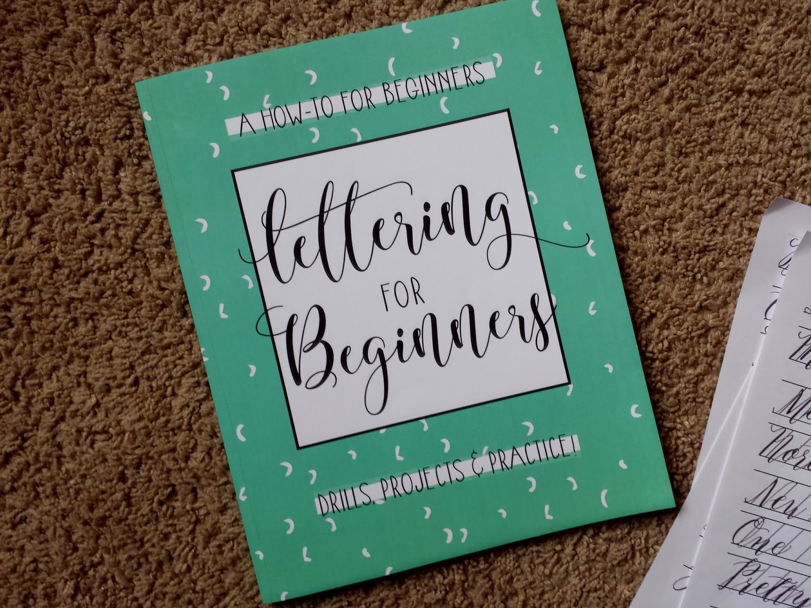 Joyous Lessons: Lettering for Kids (or Beginner Mamas!)