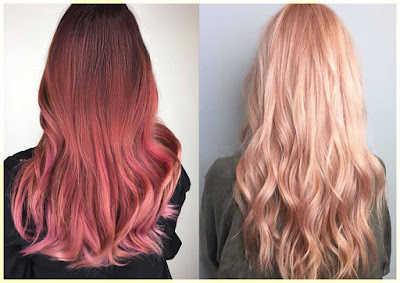 Rose Gold Hair Color - Four Best Hair Color Ideas for 2017
