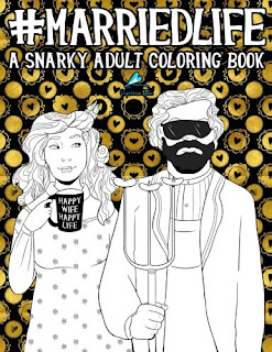 Adult Coloring Book for Married Life
