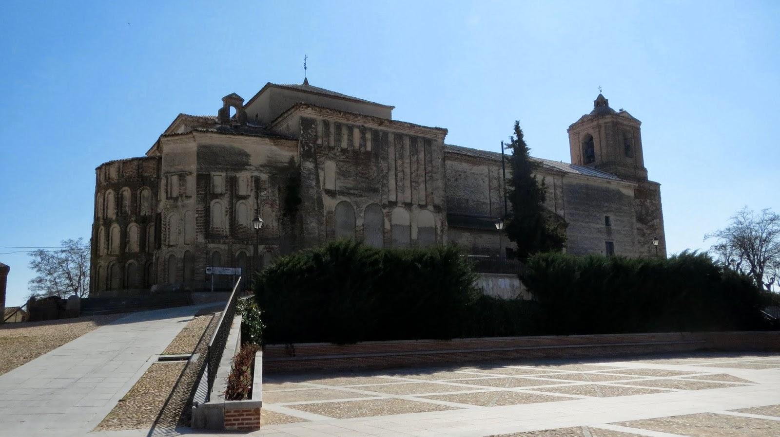La Ruta de Isabel. Madrigal de las Altas Torres. Iglesia de Santa María del Castillo