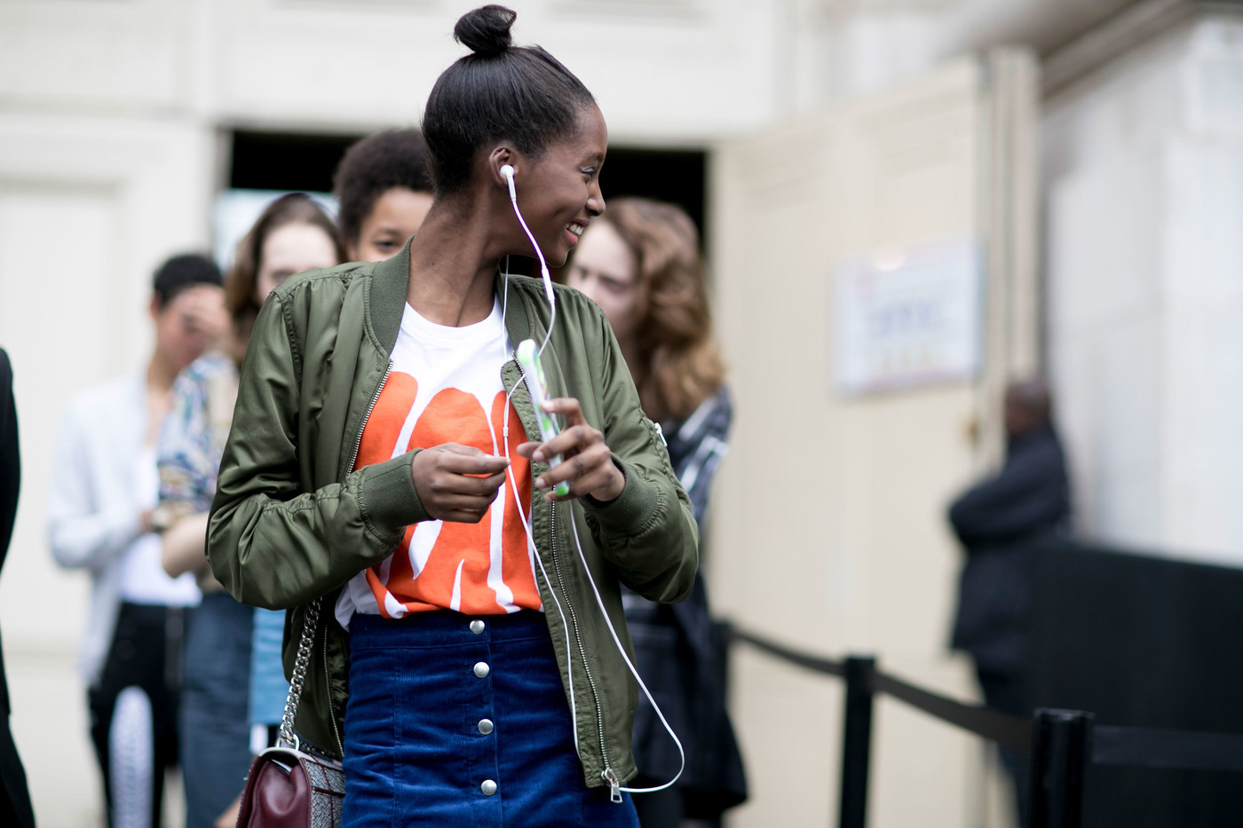 Model Street Style: Couture Autumn/Winter 2016