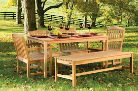 Jardín Y Terrazas Muebles De Madera Para Jardín Perfecto