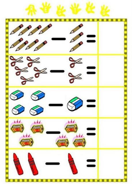 Matemáticas: Aprender a Restar