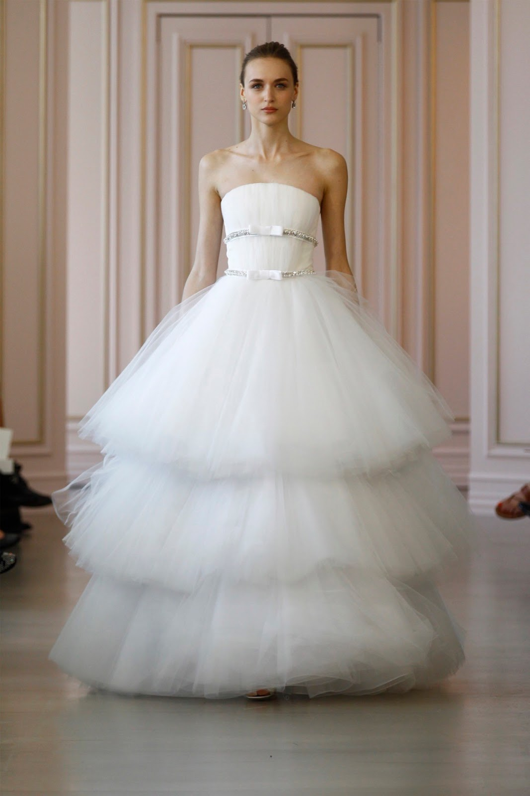 Bridal Wear | New Bridal Dresses For Spring Brides 2016 By Oscar De ...