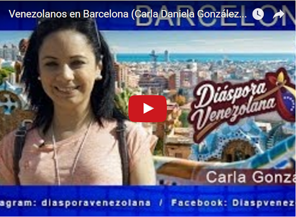 Entrevista a Venezolanos en Barcelona - España