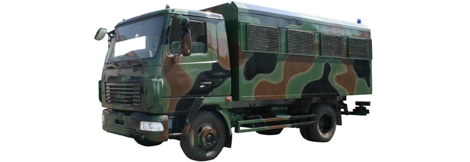 Національна гвардія закупить 25 вахтових МАЗів