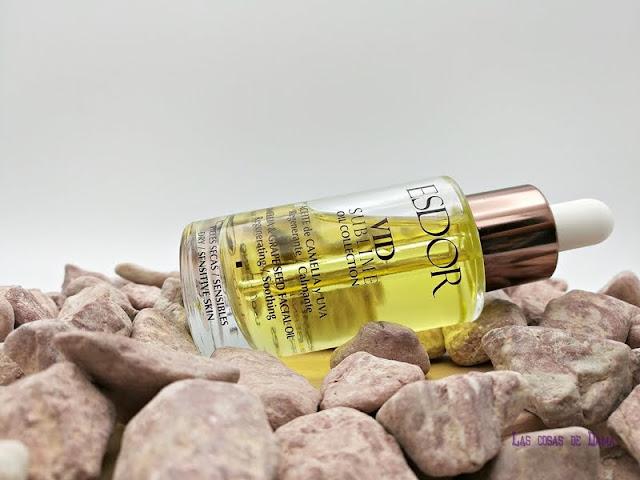 Aceite de Camelia Uva Vid Sublime  Esdor belleza polifenoles antioxidantes beauty facial