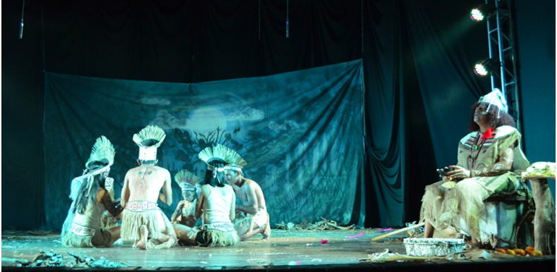 Ver com os olhos livres: o quase trintão festival teatral  santareno. Por Paulo Cidmil