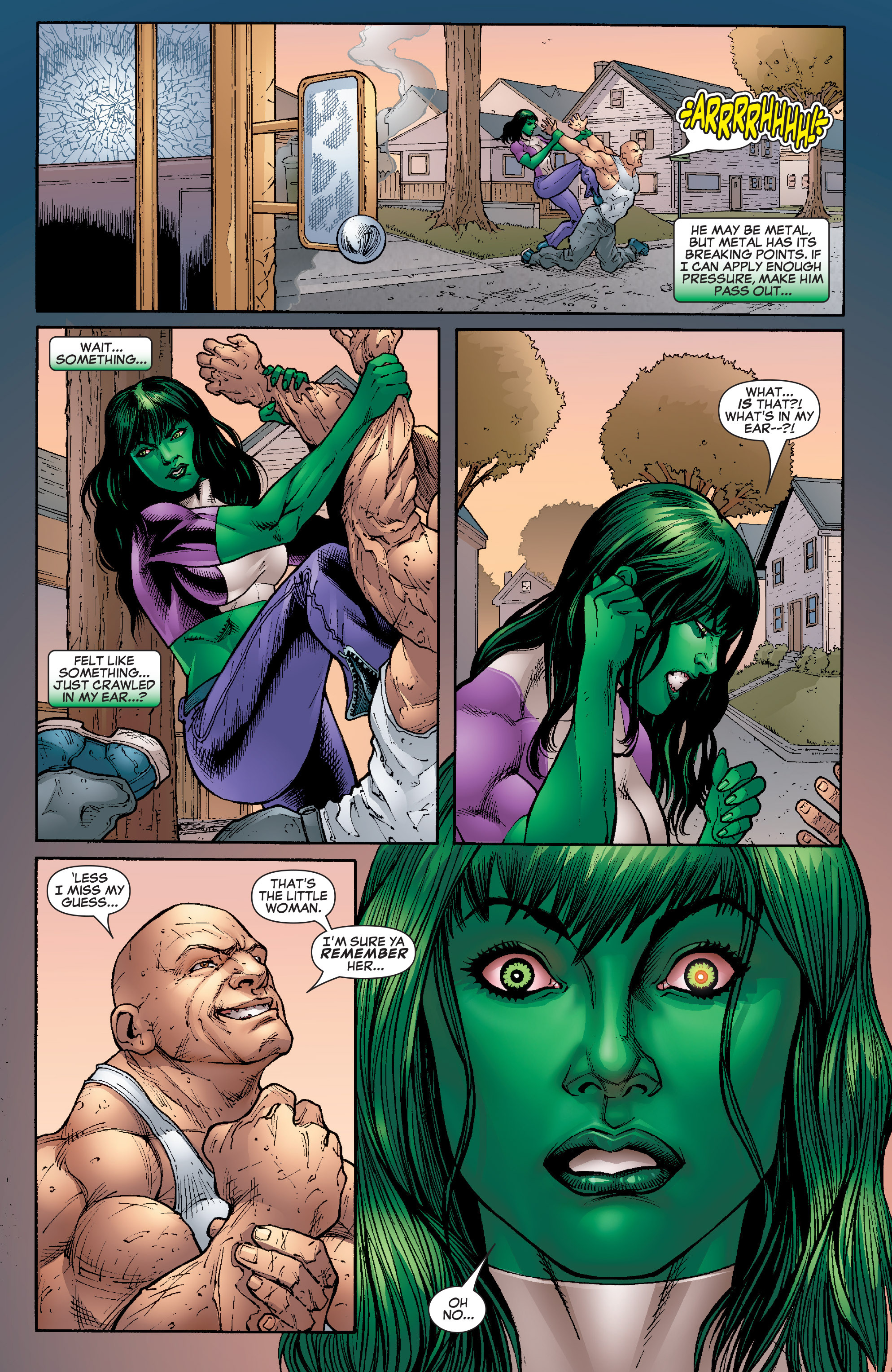Read online She-Hulk (2005) comic -  Issue #22 - 23