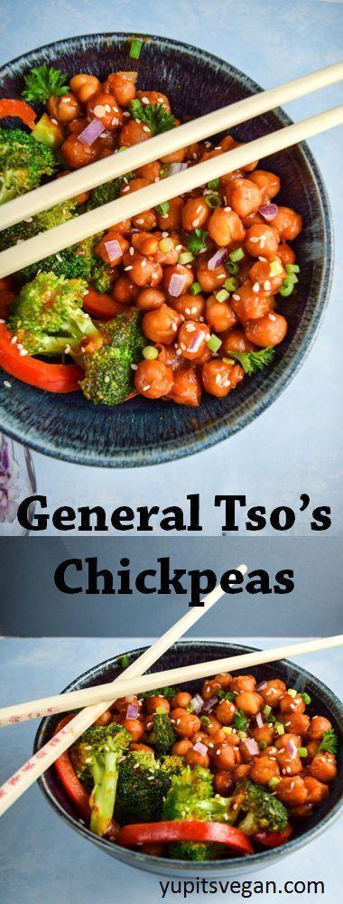 GENERAL TSO'S CHICKPEAS