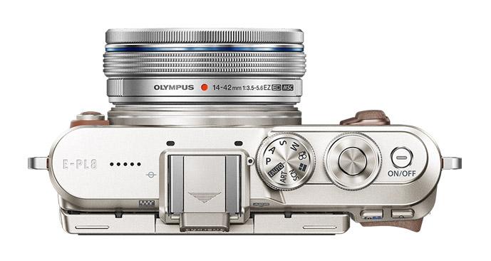 Olympus PEN E-PL8 design