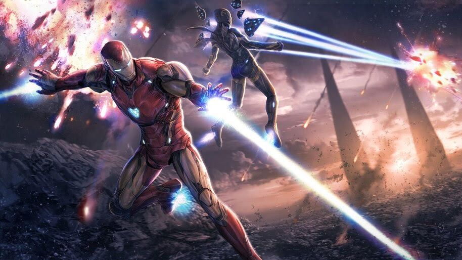 Iron Man Iron Rescue Avengers Endgame 4k Wallpaper 328