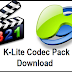 K-Lite Codec Pack Free Download- Updated All Variants Latest
