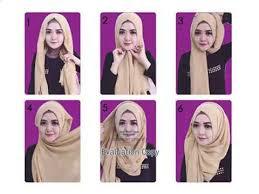 Tutorial Hijab Segi Empat Sederhana TerUp Date