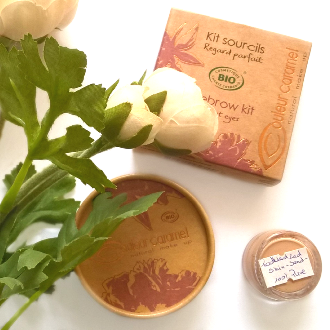 Coleur Caramel - paletka do brwi Plants for Beauty opinie