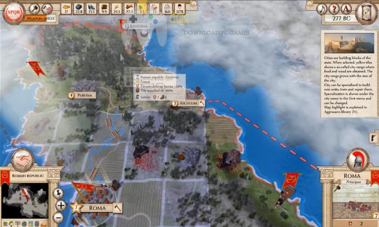 تحميل لعبة روما القديمة للكمبيوتر برابط مباشر من ميديا فاير