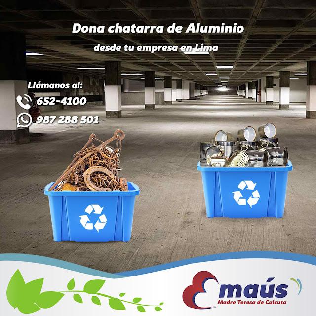 Dona y recicla Aluminio en Lima