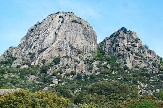 Pico de la Miel, Vía de Escalada Clásica Espolón Manolín, Croquis