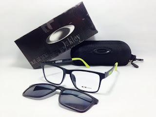 Frame Kacamata Minus Sunglass Oakley Clip On