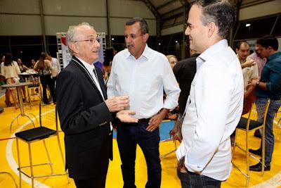 Prefeito Zito Barbosa prestigia comemoração dos 70 anos do SESI na Bahia e 7 anos de Barreiras