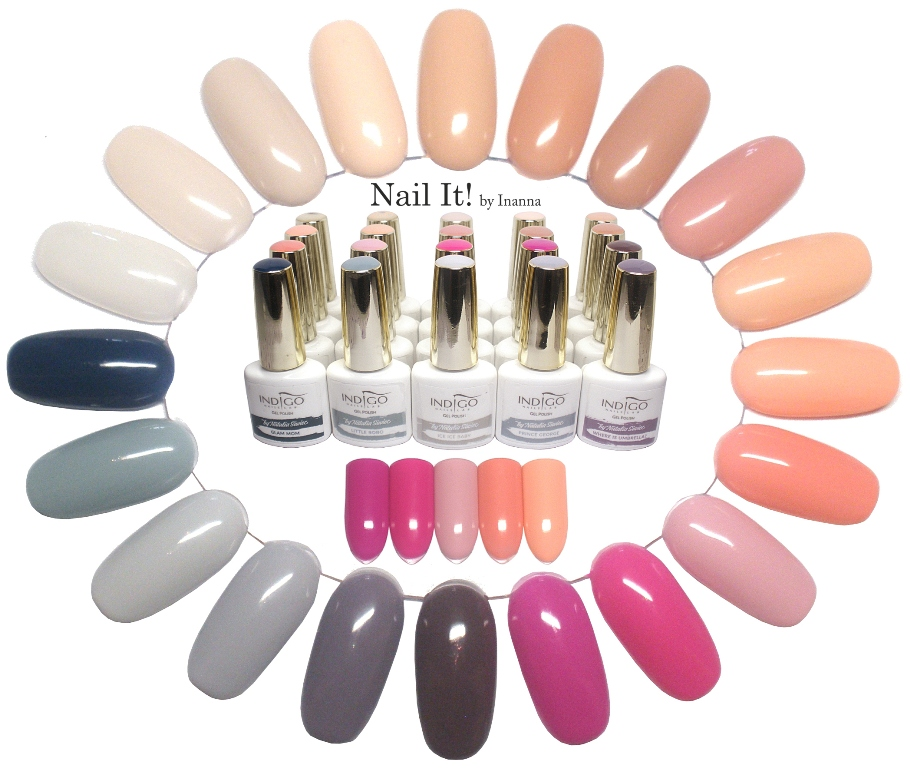 "Indigo Nails ""Mama Style"" collection by Natalia Siwiec - Part II (pink and peach colors)"