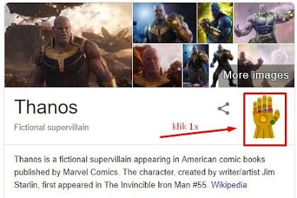 Kejadian Aneh Setelah Mengetikkan Kata Thanos di Google (VIRAL)